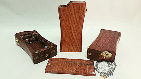 DPM V2 Sidefire  Mechanical Box Mod Nara Wood