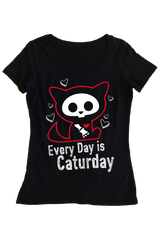 Every Day is Caturday Tee
