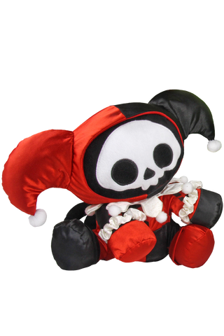 Skelanimals x DC Comics Harley Quinn Deluxe Plush