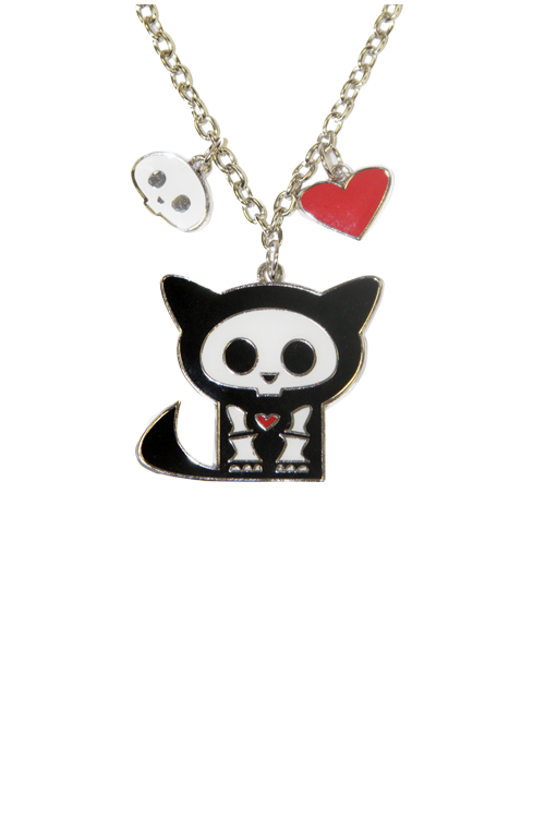 Kit Charm Necklace
