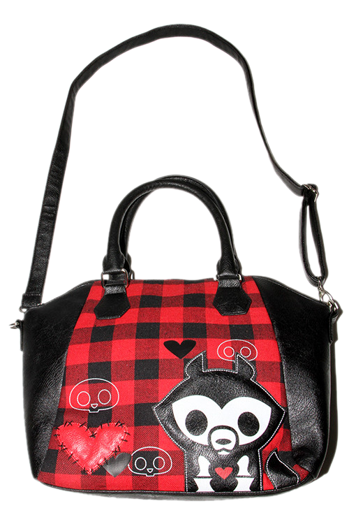 Jae Plaid Bag