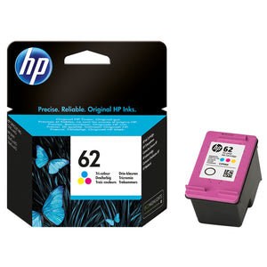 HP 62 Ink Cartridge C2P06AA Tri Color