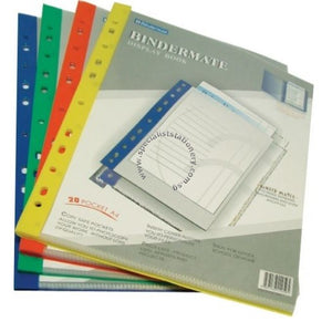 Bindermax Display book 20 pockets