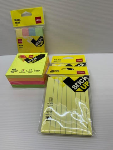 Deli Sticky Note Pad Sets