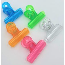 9507 Transparent Plastic Clips