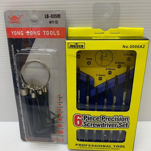 Alan Keys & Precision Screwdriver Set