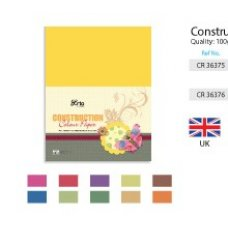 CR36375/6 ARTO CONSTRUCTION COLOR PAPER PACK