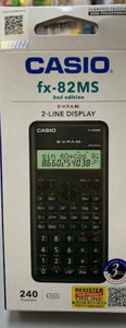 Casio Fx - 82MS Scientific Caculator