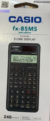 Casio FX- 85MS Scientific Caculator