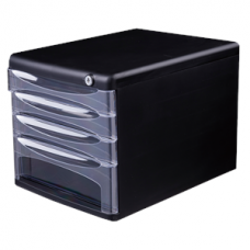 E9794 FILE CABINET 4 DRAWER W/LOCK