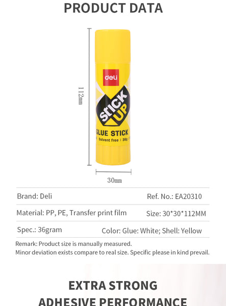 EA20301 Deli Glue Stick 36g