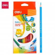 C00200 DELI COLOR PENCILS 12 COLORS