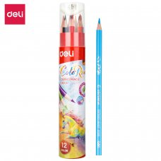 EC00307 DELI COLOR PENCIL 12 COLORS