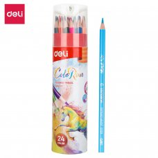 EC00327 DELI COLOR PENCIL 24 COLORS