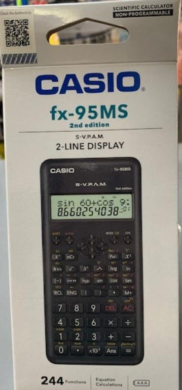 Casio Fx - 95MS Scientific Caculator