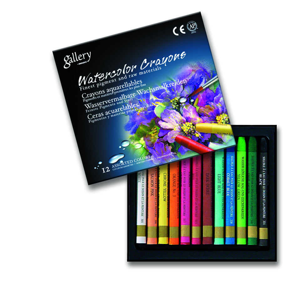 Gallery watercolor crayons - MAC