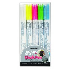 MBG -5P Mungyo Chalk Pen 5pcs Set