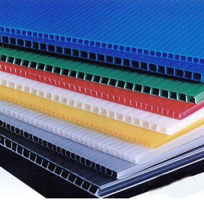 Corrugated Plastic Board 500 x 740 x 3mm