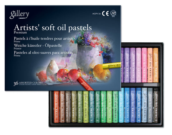 Gallery artists' soft oil pastel (MOPV)
