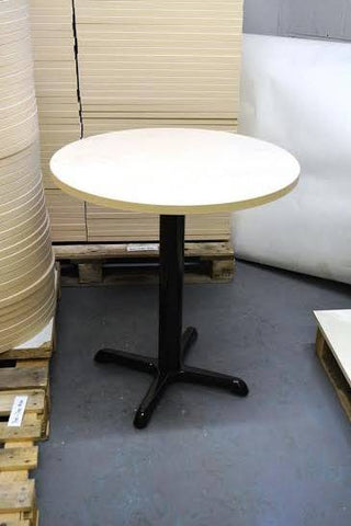Ash Complete Table with Base (600mm round)