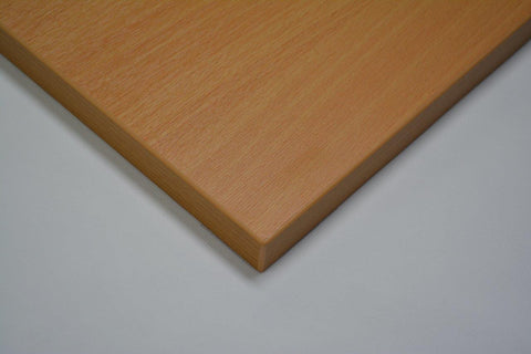 25mm MFC Restaurant Table Tops Beech