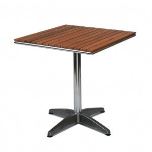 Monaco Table – Teak 700mm Square