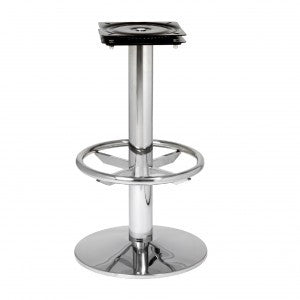 Round Stool Base with Foot Ring