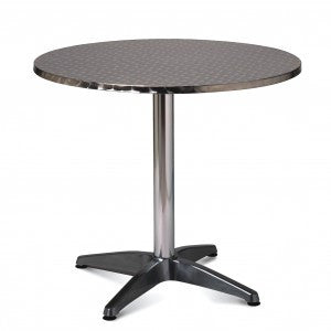 Aluminium Table – Round 800mm