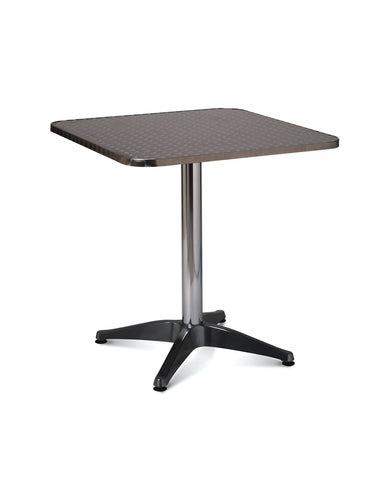 Aluminium Table – 700mm Square