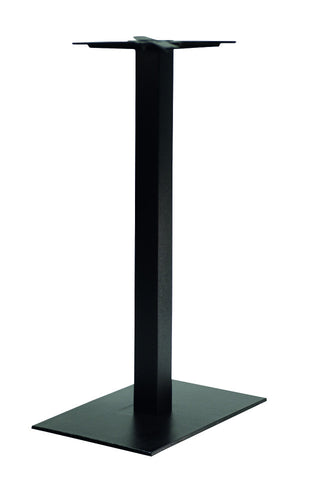 Forza Square Poseur Height Single Pedestal Base