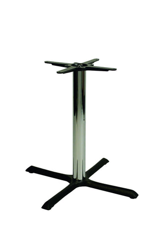 Orlando Chrome Dining Height Medium Base