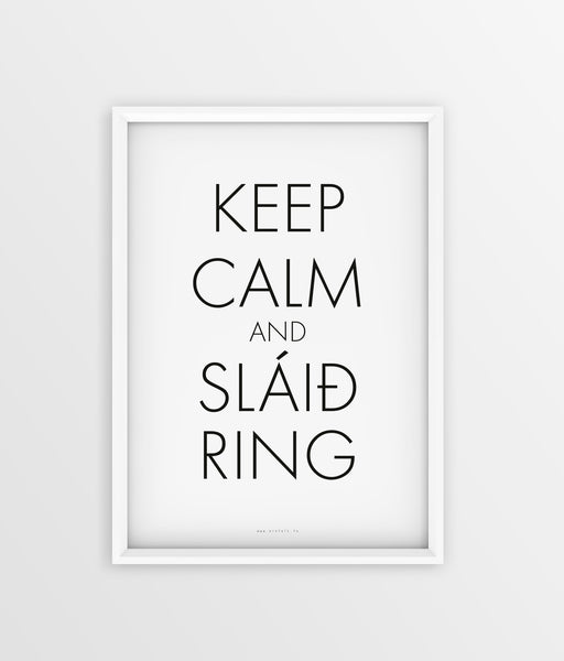 Keep Calm - Slaið Ring