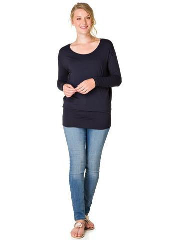 Yest - Long Sleeve Loose Fit Tunic