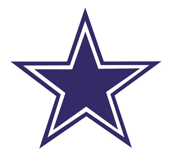 Dallas Cowboys, Die Cut Decal/Sticker