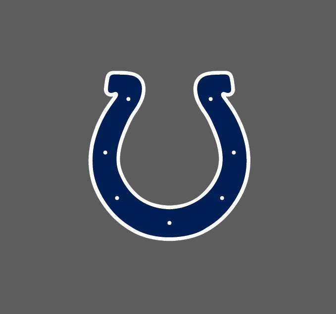 Full Color Indianapolis Colts Die Cut Decal