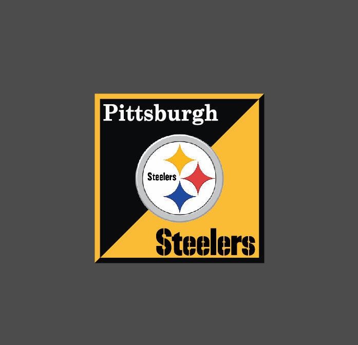 Full Color Pittsburgh Steelers Die Cut Decal