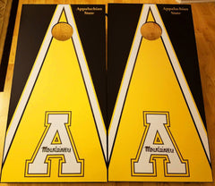 "Set of (2) - Appalachian State University Cornhole Board Decals - 24"" x 48"""