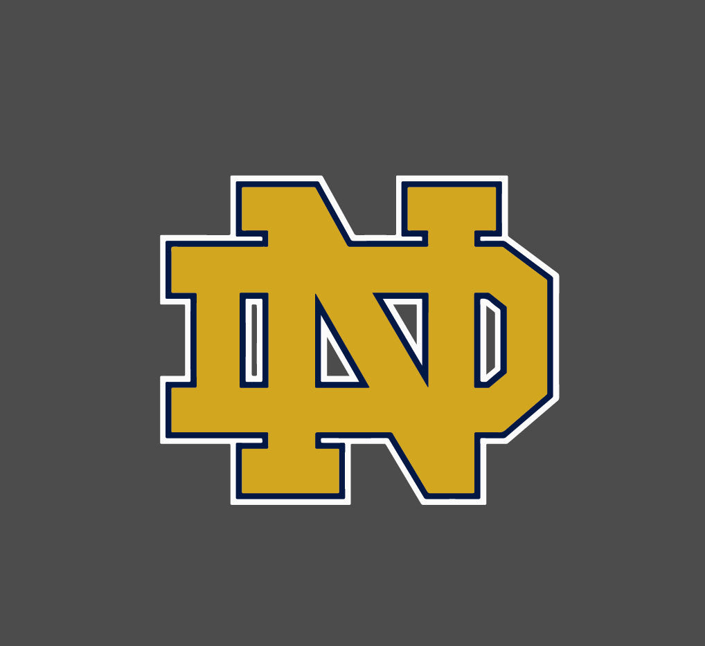 Notre Dame Color - Die Cut Decal