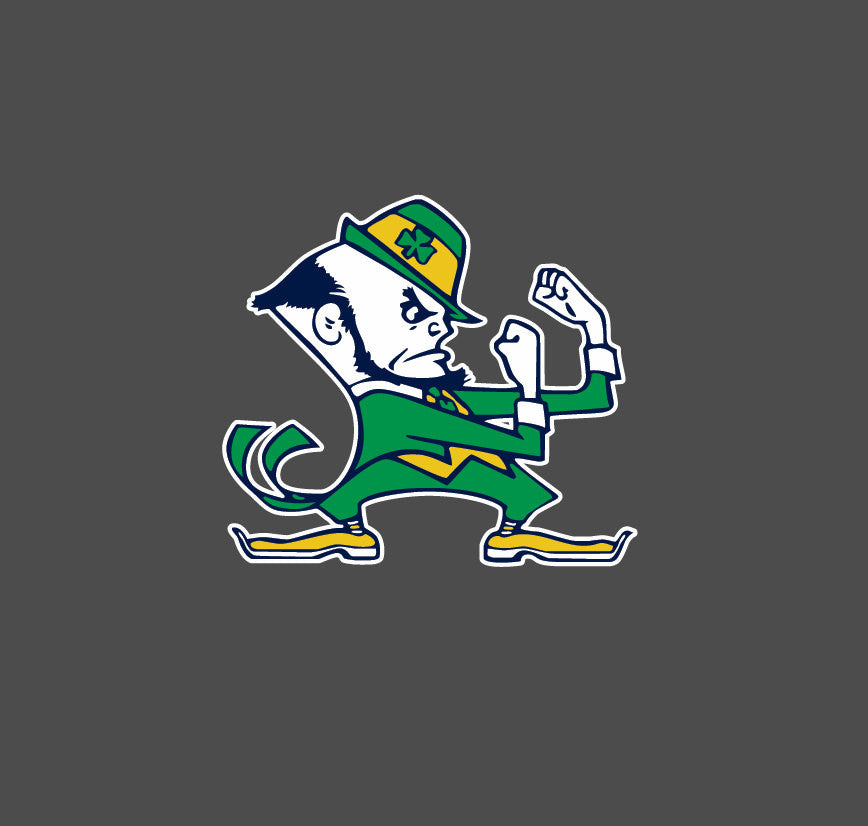 Notre Dame Fighting Irish Full Color - Die Cut Decal