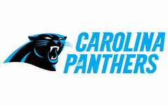 Full Color Carolina Panthers Die Cut Decal