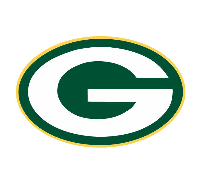 Full Color Green Bay Packers Die Cut Decal