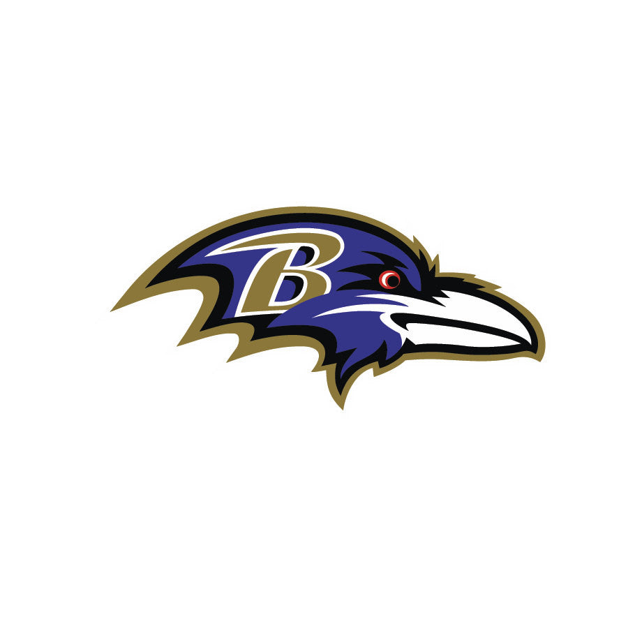 Full Color Baltimore Ravens - Die Cut Decal