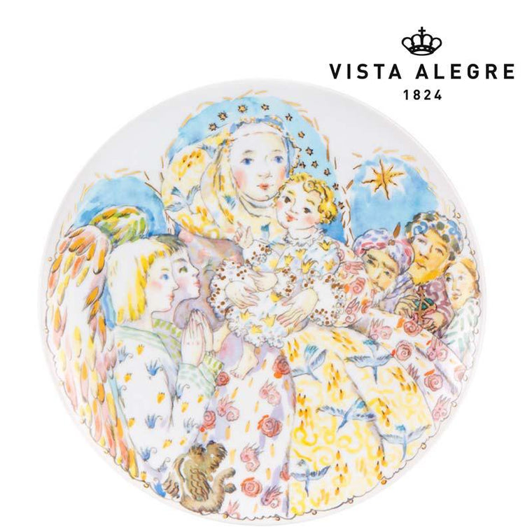 Christmas decorative plate 23 cm
