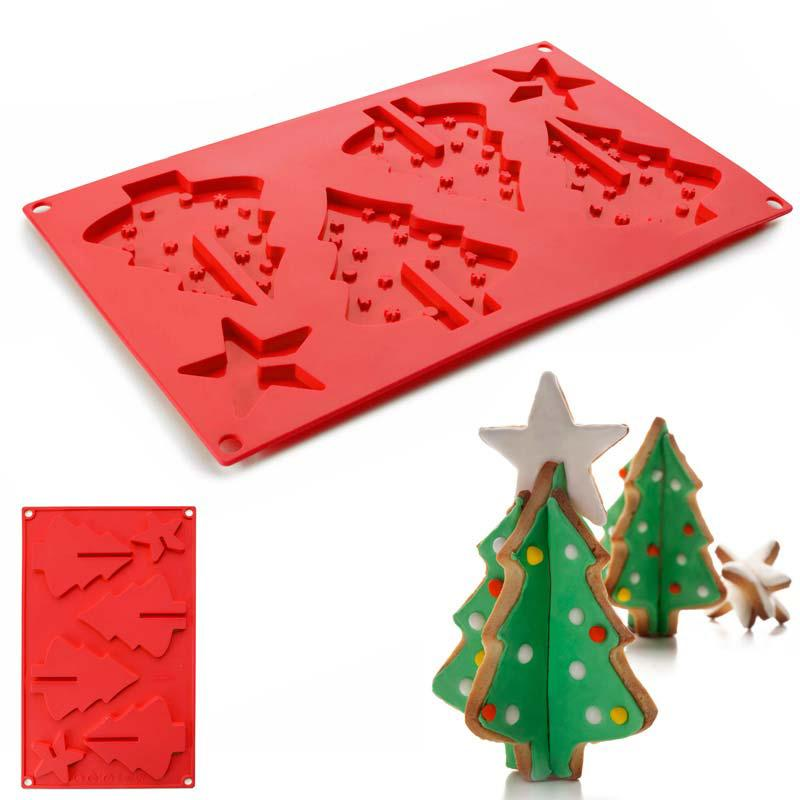 Silicone Christmas Tree Cake Mold
