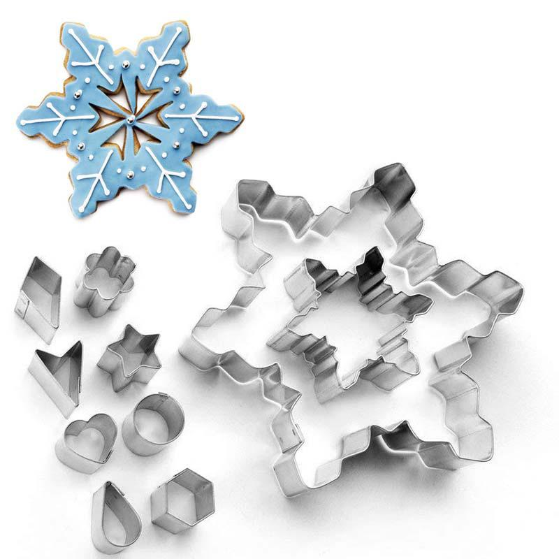 Pastry Cutter Snowflake 13x13 cm