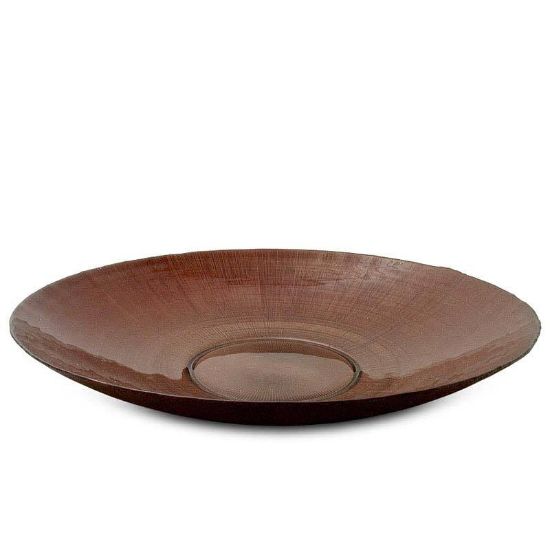 Bowl Metalic Brown 47 cm
