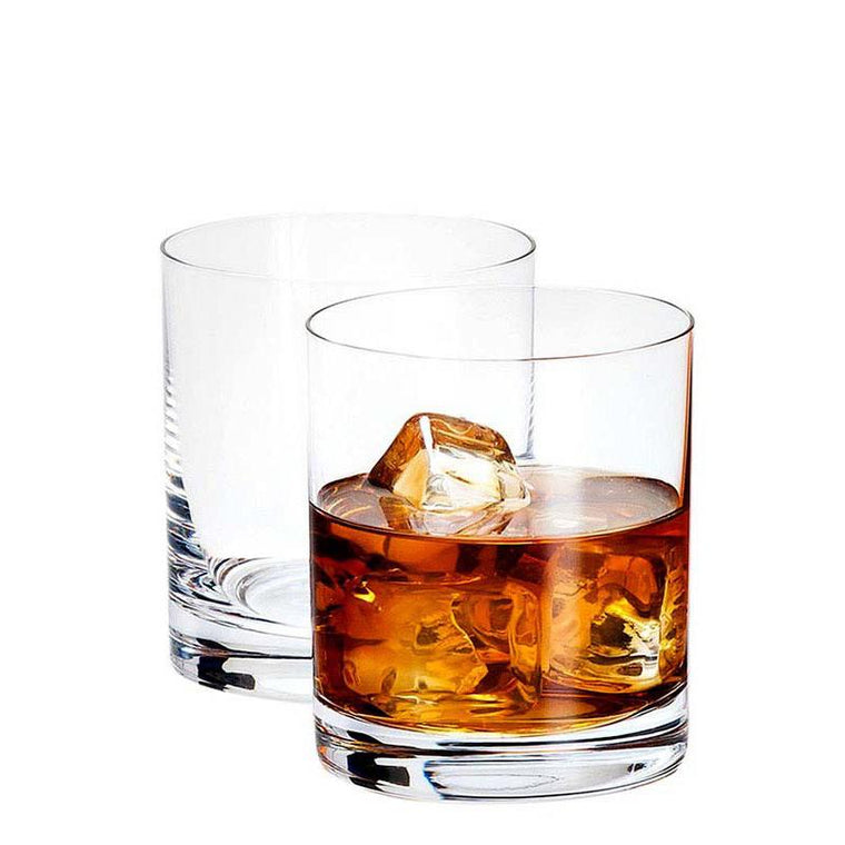 Crystal Whisky Glasses 6 Units Pack