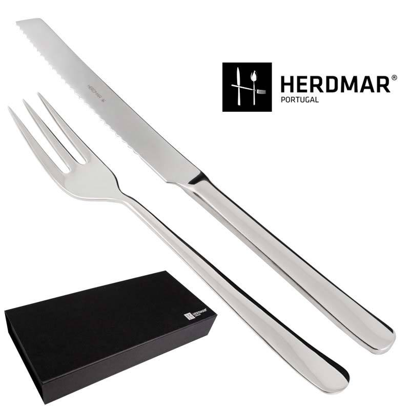 Bread Knife & Meat Carving Fork