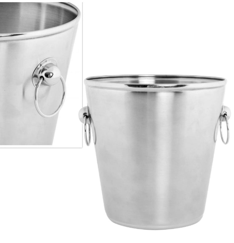 ICE BUCKET INOX MATTE