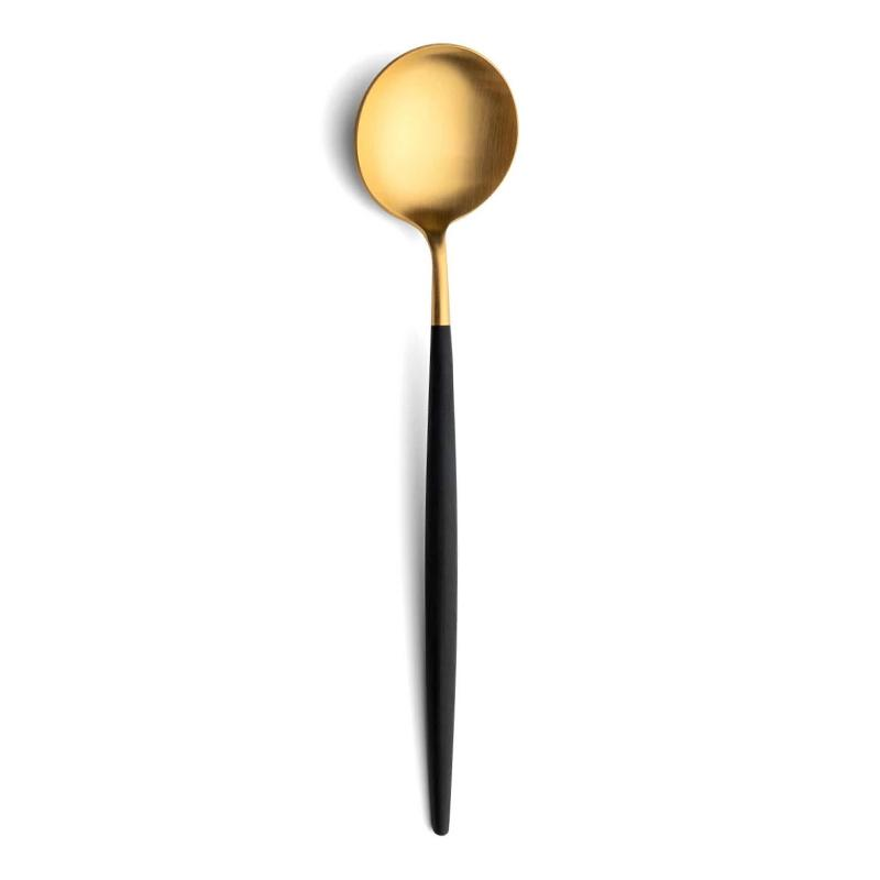 Cutipol Goa Black Gold Serving Spoon